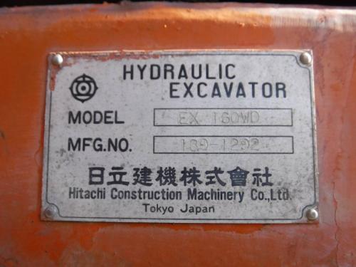 HITACHI EX160WD